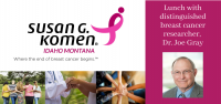 Lunch & lecture with a breast cancer researcher
