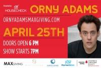 Orny Adams Live! Benefiting Leukemia Lymphoma Society