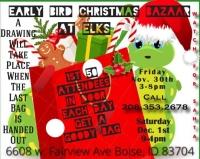 Early Bird Christmas Bazaar