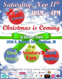 2nd Annual Christmas is Coming to Kleiner Park
