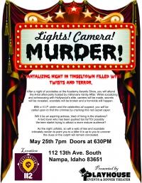 Lights, Camera, Murder! Encore Performance