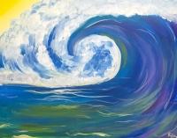 Chonies x Paint 'n Sip : Ride The Wave  Mini