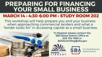 Preparing for Financing Your Small Business