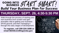 Going into Business: Build a Business Plan for Success