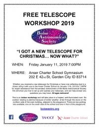FREE Telescope Workshop
