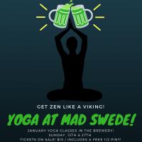Yoga at Mad Swede!
