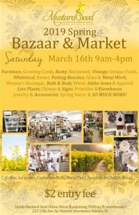 Spring Bazaar & Market at Mustard Seed Home Decor
