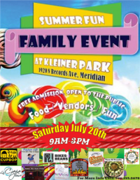 3rd Annual Summer Fun Family Event at Kleiner Park