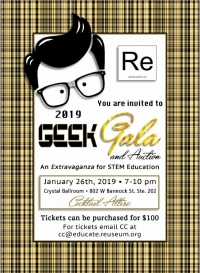 Reuseum Educational's Geek Gala