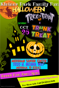 Kleiner Park Family Fun Halloween Trick and Trunk