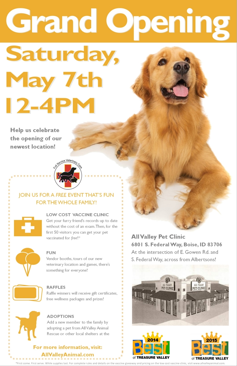 Grand Opening 05/07/2016 Boise, Idaho, All Valley Pet Clinic