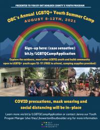 LGBTQIA  Camp Summer 2021
