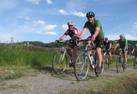 Gallatin Valley Land Trust Open Lands Bicycle tour 05/19/2018