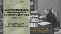 Government Matchmaking Event & Business Support Expo