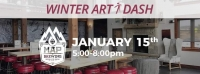 Art Dash! fundraiser for The Gallatin Art Crossing