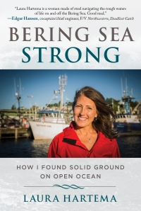 "Laura Hartema, Author of ""Bering Sea Strong,"" is here."