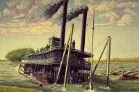 The Steamboat Bertrand, 1865