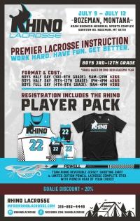 Rhino Lacrosse Bozeman Academy