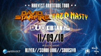 Harvest Gratitude Tour: David Starfire & FreQ Nasty