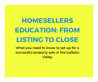 Homesellers Education: From Listing to Close