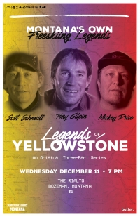 Legends of Yellowstone premier