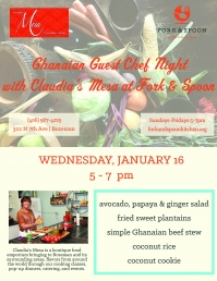 Guest Chef Night with Claudia's Mesa at Fork & Spoon