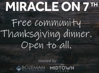 Free Thanksgiving Dinner - Miracle on 7th at Midtown