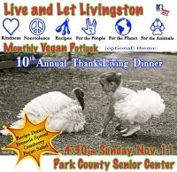 Vegan Potluck: 10th Annual ThanksLiving Dinner