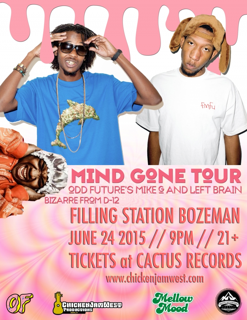 mike g and left brain of odd future and bizarre of d12 06 24 2015