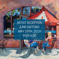 Artist Reception featuring June Safford
