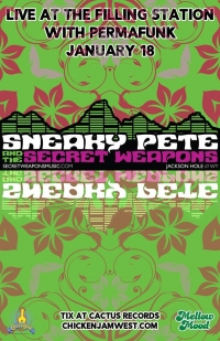 Sneaky Pete & The Secret Weapons with Permafunk