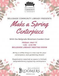 Make a Spring Centerpiece