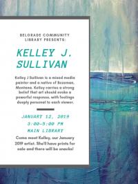Artist Reception: Kelley J Sullivan