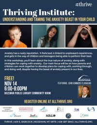 Thriving Institute: Understanding Anxiety in Your Child