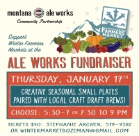 Fundraiser: Bozeman Winter Farmers' Market
