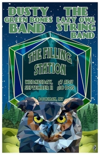 The Lazy Owl String Band & Dusty Green Bones Band