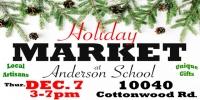 Anderson School Holiday Market