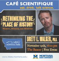 Cafe Scientifique: History, Memoir, Memory & Medicine
