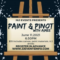 Paint & Pinot Night with Aimee