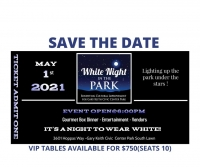 White night in the park