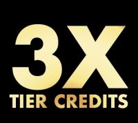 3X Tier Credits