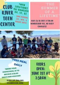 Summer of a Lifetime @ Boys & Girls Teen Center