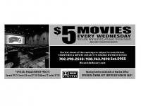 $5 MOVIES @ RIVERSIDE RESORT