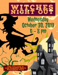 Witches Night Out at the Village