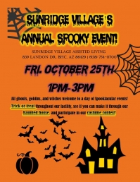 Sunridge Village's Annual Spooky Event