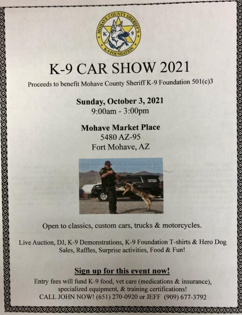 K-9 Car Show 2021