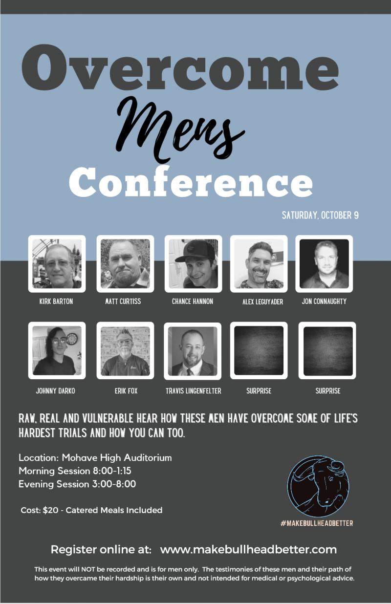 Overcome Men's Conference