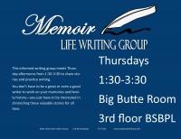 Memoir - Life Writing Group