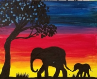 Elephant Paint Party