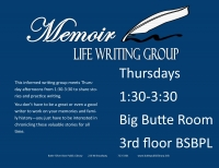 Memoir Life Writing Group